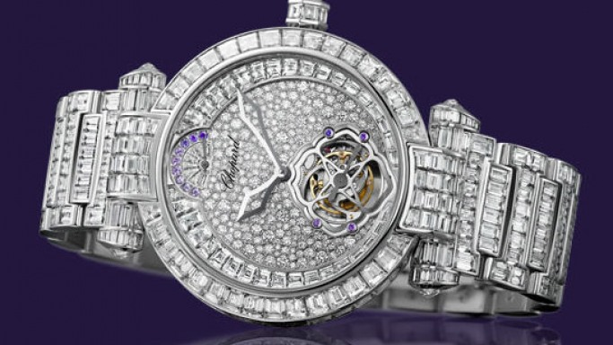 Chopard shows Haute Horlogerie is not a man's world with Imperiale Tourbillon jewellery watch