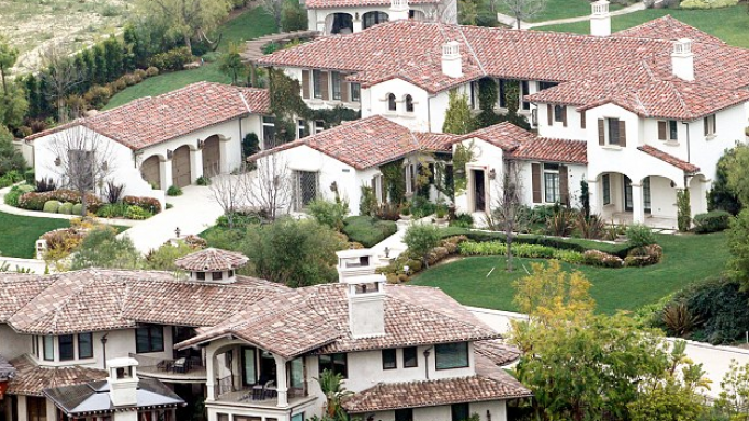 Justin Bieber house in Calabasas, California, USA