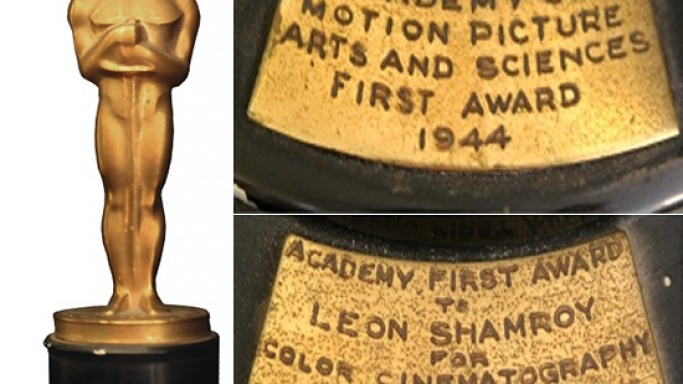 Oscar for sale: Leon Shamroy's Oscar goes on auction