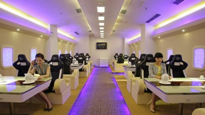 A380 themed airplane restaurant opens in Chongqing, China