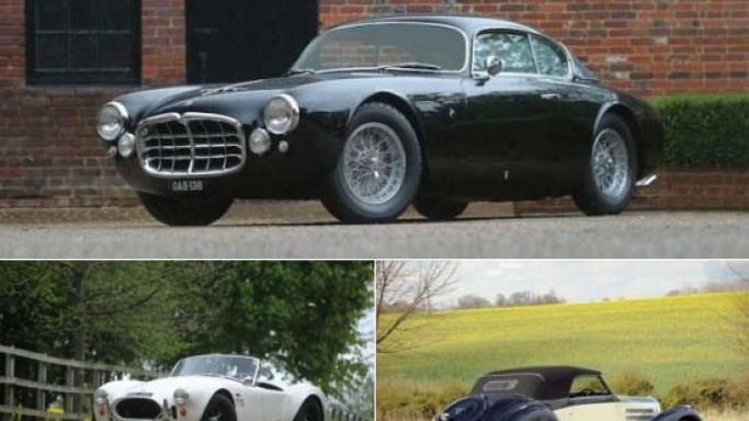 Most desirable collector cars for sale at Pebble Beach Auctions 2012