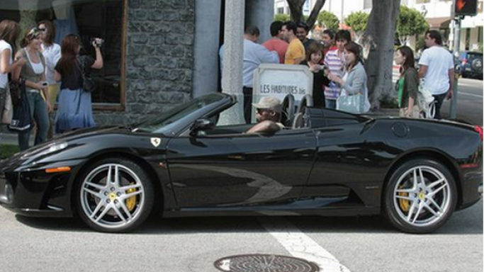 Seal owns a Ferrari 360 Spider sports car and has been spotted cruising for work and leisure in his Ferrari