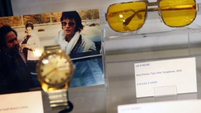 Elvis Presley's memorabilia sale marks the legend's 35th death anniversary