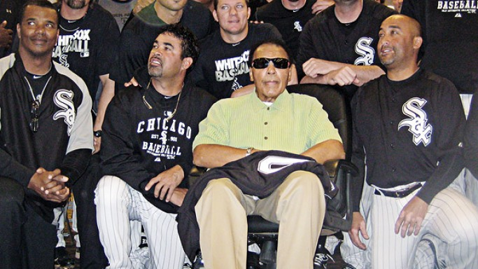 Athletes For Hope has received support from 10 celebrities including Muhammad Ali.