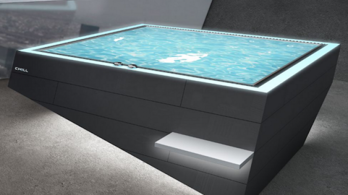 Chill-Pool is the new generation of Stainless Steel Pools for luxury homes