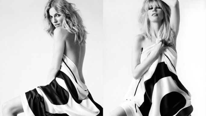 Sienna Miller at a photo shoot of Breast Cancer Care campaign