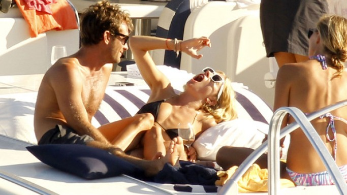Sienna Miller enjoying vacations
