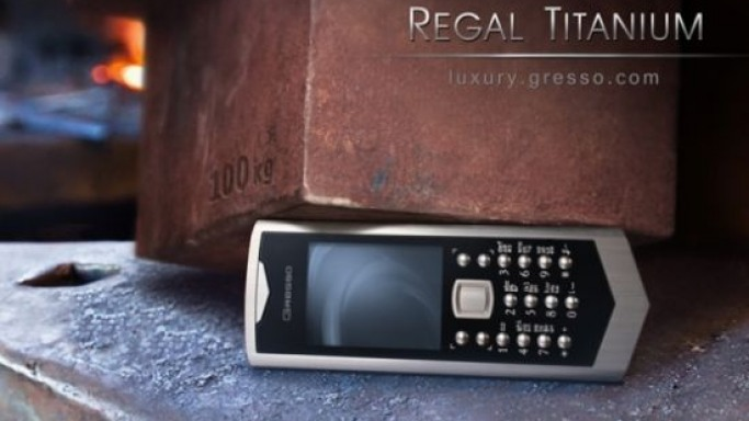 Gresso unveils Regal Titanium Phone