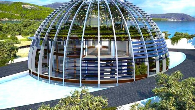 The sustainable and solar eco-house