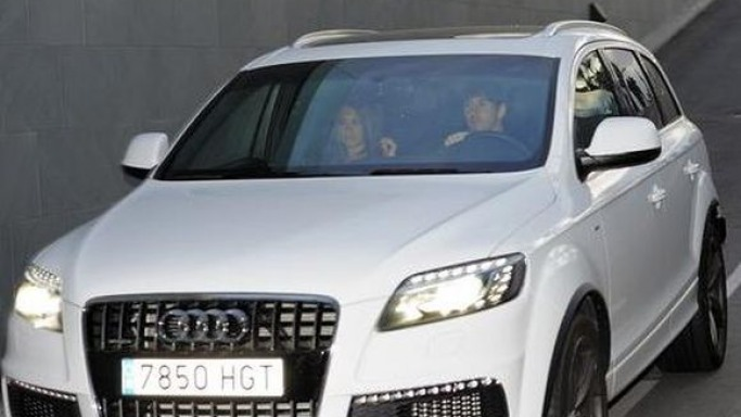 photo of Antonella Roccuzzo Audi - car