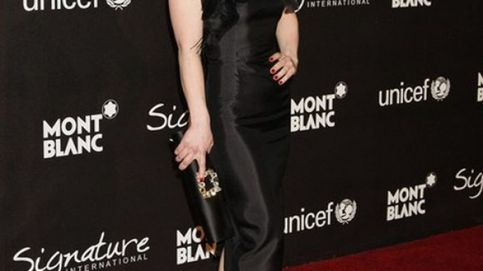 Christina Ricci has been with UNICEF for quite a few years. She has been involved in several campaigns of UNICEF.