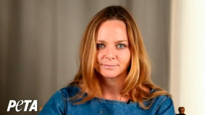 Stella McCartney supports PETA