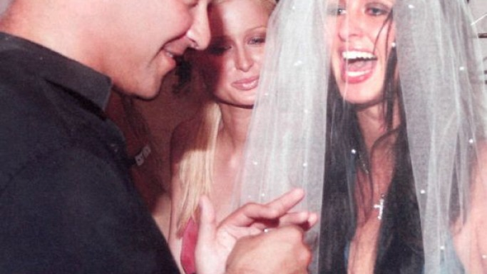 Nicky Hilton and Todd Meister