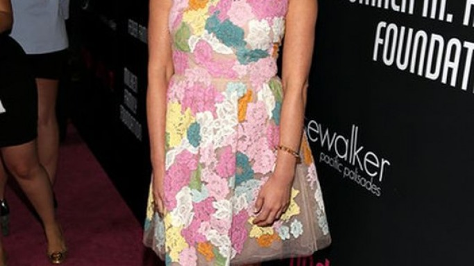 Olivia wore the stylish pumps to the 8th annual pink party on October 2012.
