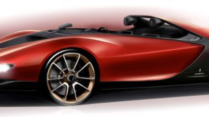 Concept Car Pininfarina Sergio to be launched at Geneva Motor Show as tribute to Life Senator Sergio Pininfarina