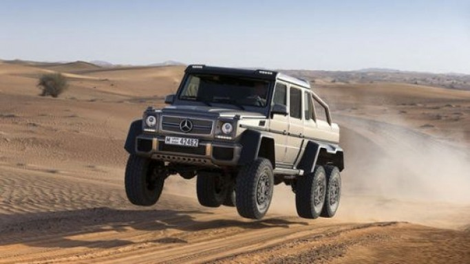 Six-Wheeled Mercedes G-Class 'G63 AMG 6X6' is the Largest and Most Extreme Road Legal SUV
