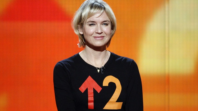 Renee Zellweger attends 2010 Stand Up To Cancer event