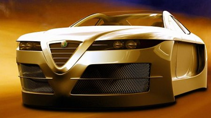 2006 Alfa Romeo Spix – A Flying Car Concept