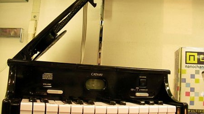 CD Player That Looks Like A Piano