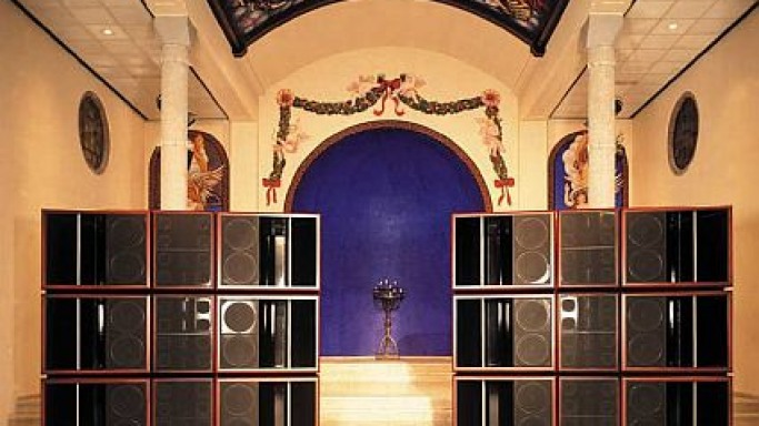 The $1 million Grand Enigma speakers