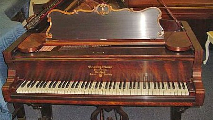 eBay Watch: Historic 1863 Steinway Concert Grand Piano