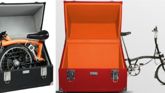 Brompton Bike – Briefcase in one hand, transportation in the other
