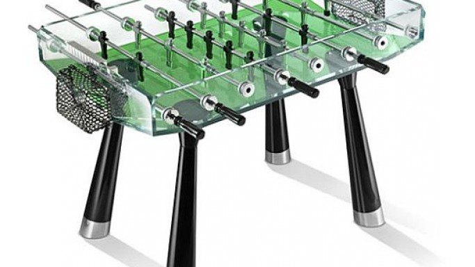 Teckell Collection – Foosball goes Glassy & Classy with Crystal Casing