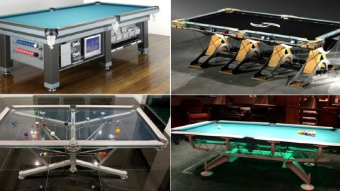 Most expensive pool tables with a difference!
