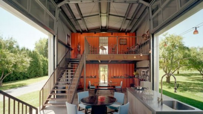 Living inside a shipping container!