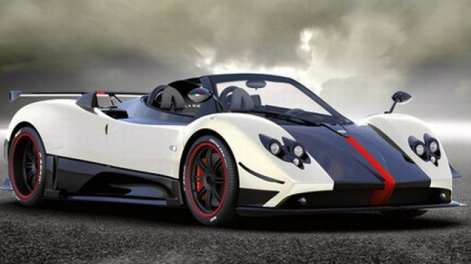 Limited edition Pagani Zonda Cinque Roadster costs $1.8 million