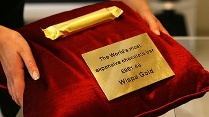 Wispa Gold relives as world's most expensive chocolate bar