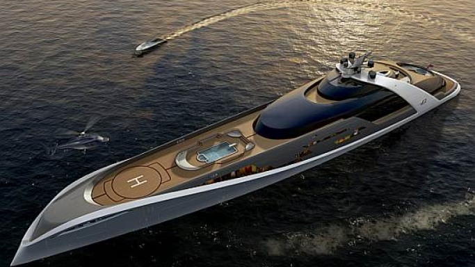 Automotive design comes to superyachts with Drive's new concept yacht
