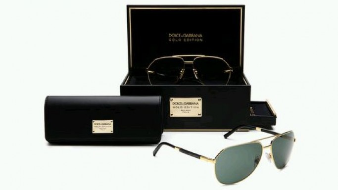 D&G introduces gold edition sunglasses