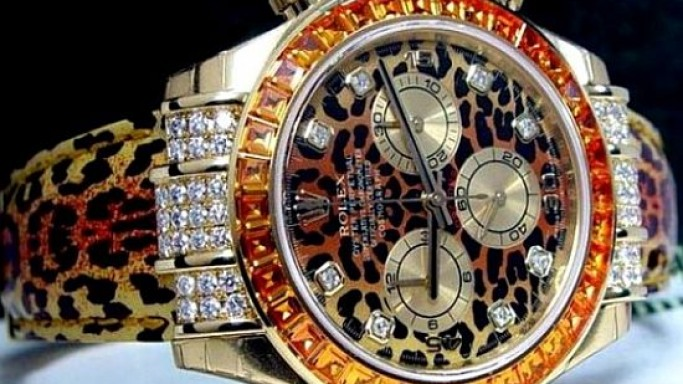 The world's prettiest Rolex is up for grabs