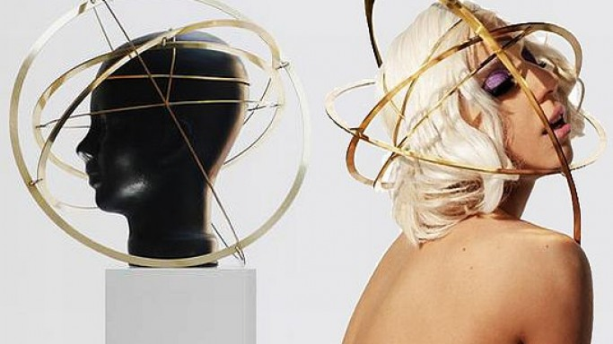 Lady Gaga Orb headpiece up for grabs