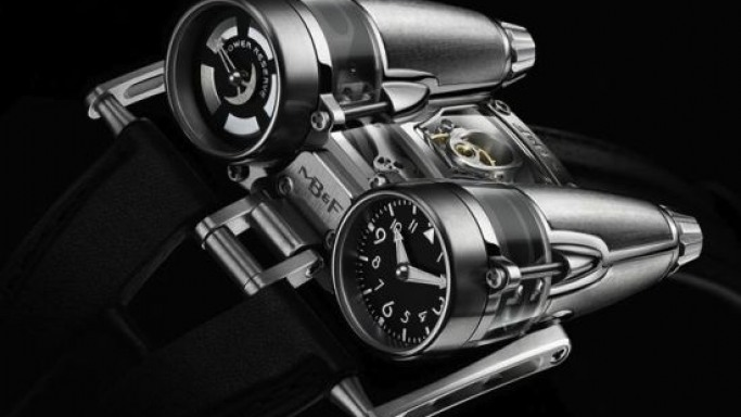 MB&F HM4 Thunderbolt wristwatch is a true work of art