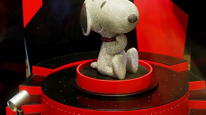 Diamond Snoopy celebrates the comic character's 60th anniversary