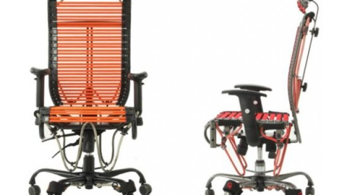 Ergonomic GymyGym exercise chair for the office executives