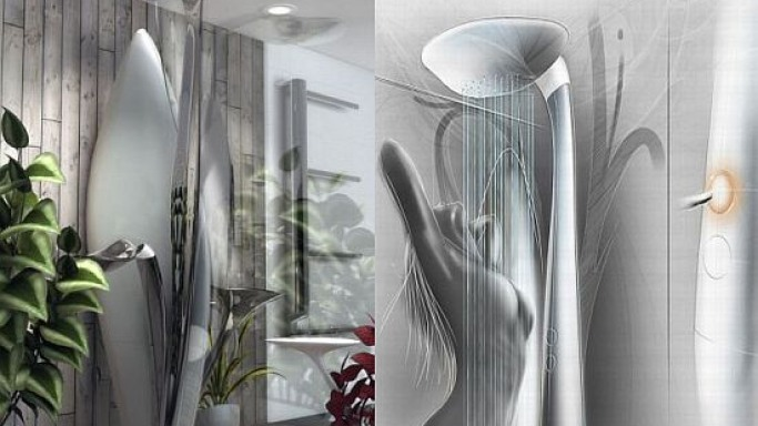 Avatar-inspired shower makes an extraterrestrial landing into your bathroom