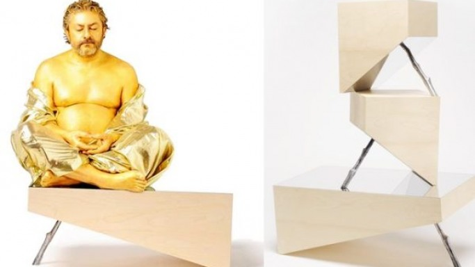 Buddhist Zen practices inspire CTRLZAK's DZEN furniture collection