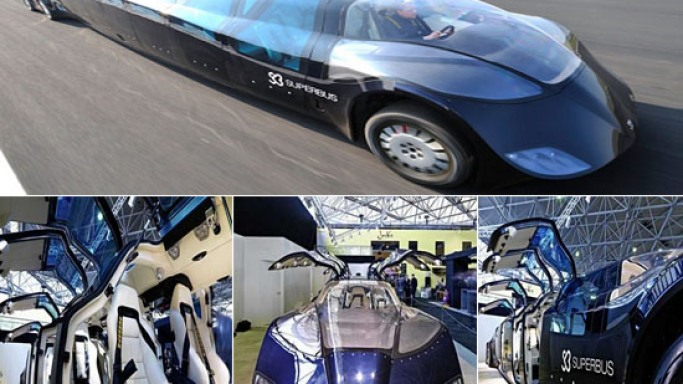 Dream futuristic project Superbus: Now a reality