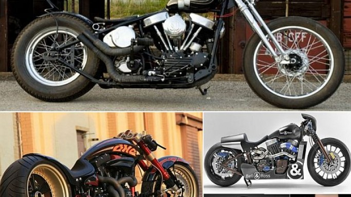Custom Harley-Davidsons cloaked in perfection