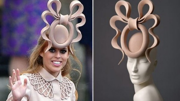 Princess Beatrice's crazy wedding hat fetches £81,100