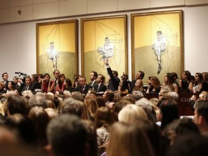 Bacon's Triptych Fetches $142.4 Million to Become the Most Expensive Art Work at Auction