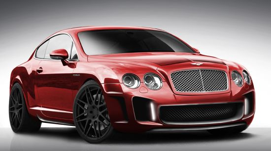 Imperium creates customized Bentley Continental GT for an affluent UK customer