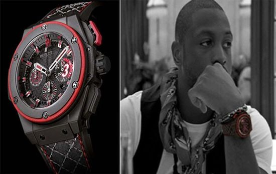 Limited edition Hublot King Power Dwyane Wade watches