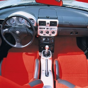 Toyota MR2 Turbo Interior