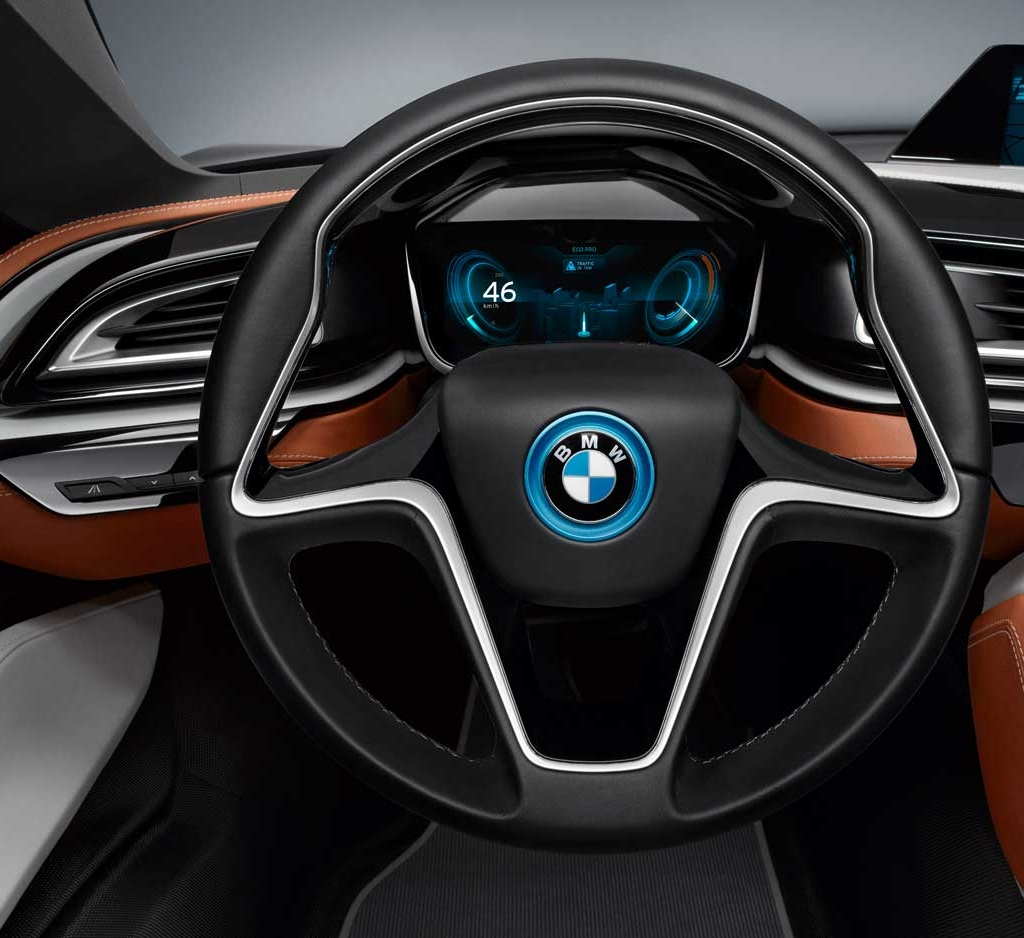 Bmw i8 coupe bornrich price features luxury factor for Bmw i8 interior