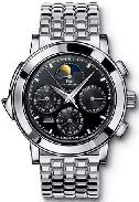 IWC Platinum Grande Complication Black Dial Platinum Bracelet Watch